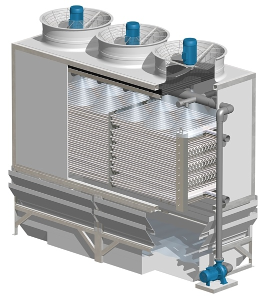 Closed Circuit Evaporative Cooling Towers