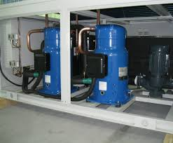 Air and Water Cooled Scroll Chillers